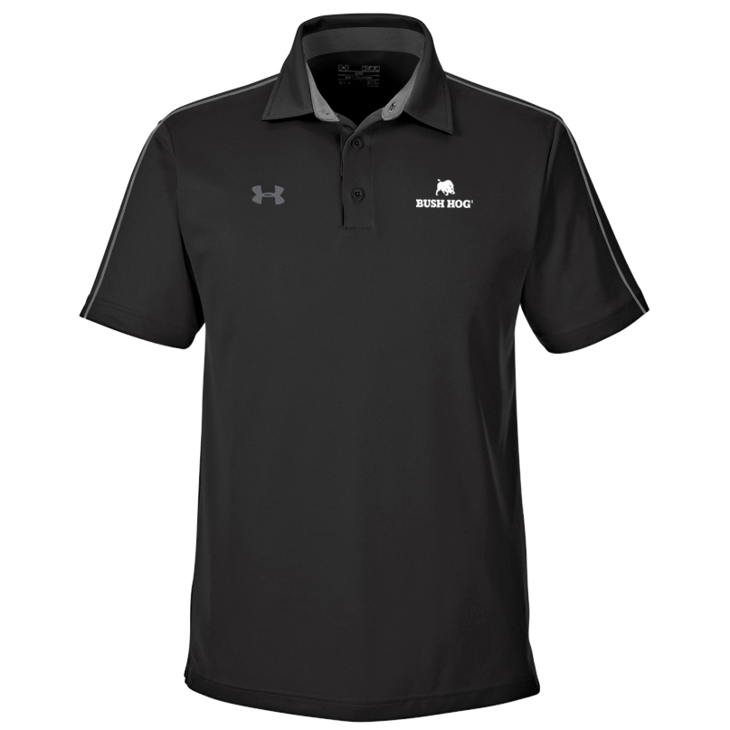 Under Armour Men's Tech Polo Black