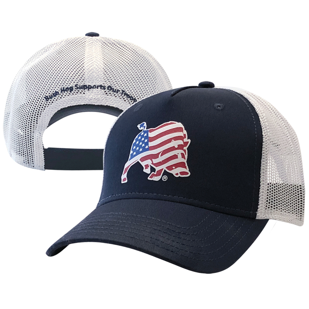 Stars & Stripes Mesh Cap
