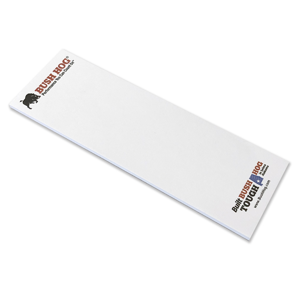 "3"" x 9"" Scratch Pad with 50 Sheets"