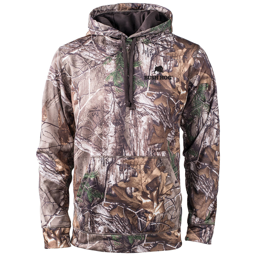Realtree® Xtra Hooded Performance Fleece Pullover